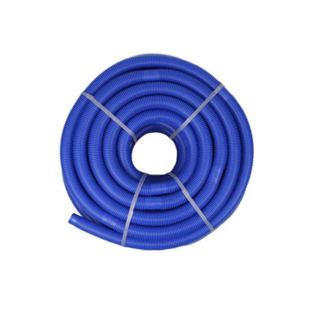 Northlight 147 Ft X 1 25 In Blow Molded Pe In Ground Swimming Pool Cuttable Vacuum Hose 32038365 The Home Depot