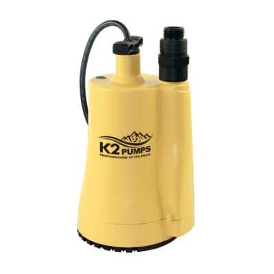 1/6 HP Submersible Thermoplastic Utility Pumps