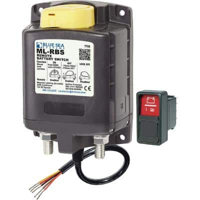 ML - RBS Remote Battery Switch with Manual Control - 12V DC 500A