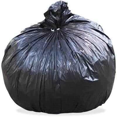40 in. x 48 in. 45 Gal. 1.5 mil Brown/Black Total Recycled Content Plastic Trash Bags (100/Carton)