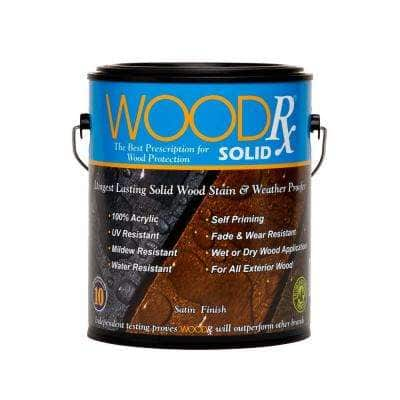 1 gal. Black Solid Wood Exterior Stain and Sealer