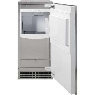15 in. Built-In 65 lbs. Ice Maker in Custom Panel Ready