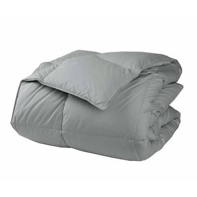 LaCrosse LoftAIRE Light Warmth Silver Queen Down Alternative Comforter