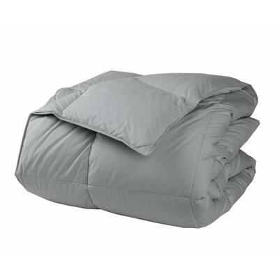 LaCrosse LoftAIRE Extra Warmth Silver Queen Down Alternative Comforter