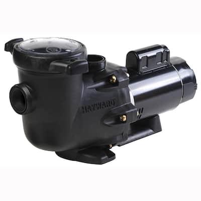 2 HP 115-Volt to 230-Volt 2 in. /2 ½ in. Plumbing TriStar Inground Single Speed  Pool Pump