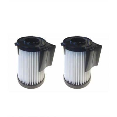 HEPA Style Filters Replacement for Eureka DCF10, DCF14 Part 62396, 62731 and 62396-2 (2-Pack)