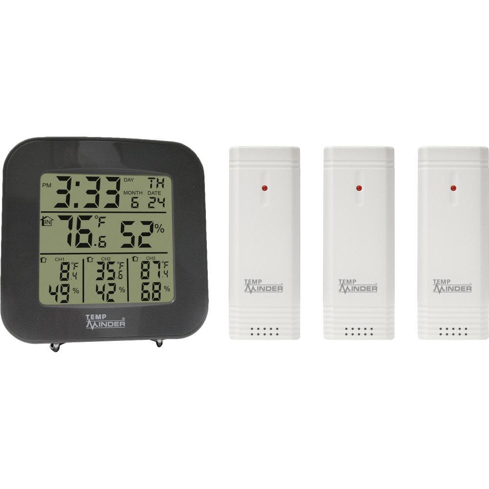Weather Station 4-Zone Temp/Humidity