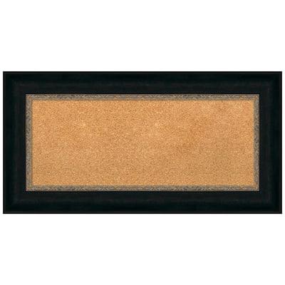 Paragon Bronze 36.75 in. x 18.75 in. Framed Corkboard Memo Board