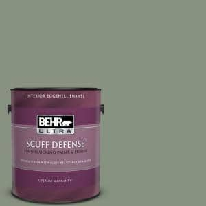 Behr Ultra 1 Gal Qe 45 Thistle Extra Durable Eggshell Enamel Interior Paint Primer 275401 The Home Depot