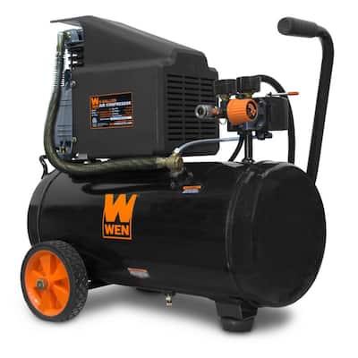 6 Gal. Oil-Lubricated Portable Horizontal Air Compressor