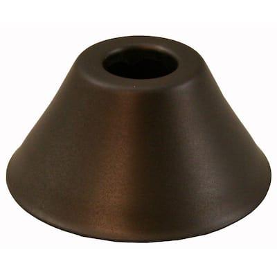 2-3/8 in. O.D. Bell Pattern Escutcheon for 1/2 in. Copper Tubing in Oil Rubbed Bronze