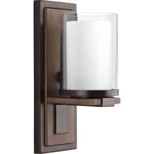 Mast Collection 1-Light Antique Bronze Wall Sconce