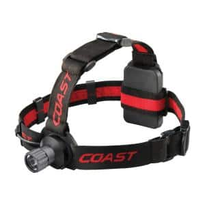 HL40 300 Lumen LED Headlamp with Hardhat Compatibility