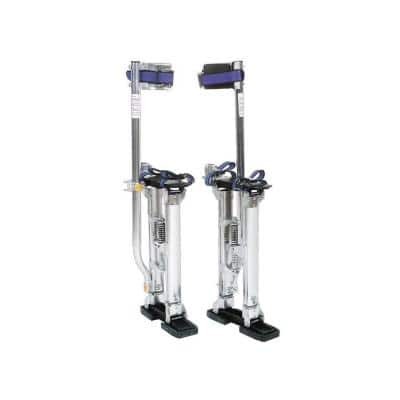 15 in. to 23 in. Adjustable Drywall Stilts