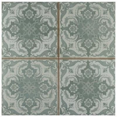 Kings Seagate Encaustic 17-5/8 in. x 17-5/8 in. Ceramic Floor and Wall Tile (11.02 sq. ft./Case)