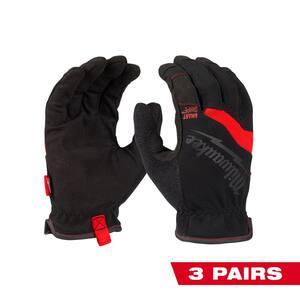 XX-Large FreeFlex Work Gloves (3-Pack)