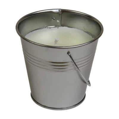 14 oz. Outdoor Bucket Candle with Natural Citronella Scent