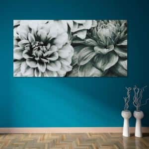 ''Blossoms'' Frameless Free Floating Tempered Art Glass by EAD Art Coop Wall Art