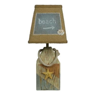 14 in. Multi-Colored Novelty Lamp