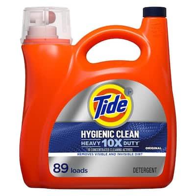 Tide Hygienic Clean Heavy-Duty 10X 138 oz. Original Scent Liquid Laundry Detergent (89-Loads)