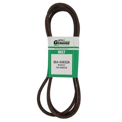 Original Equipment Deck Drive Belt for Select 42 in. Zero Turn Riding Lawn Mowers OE# 954-04033
