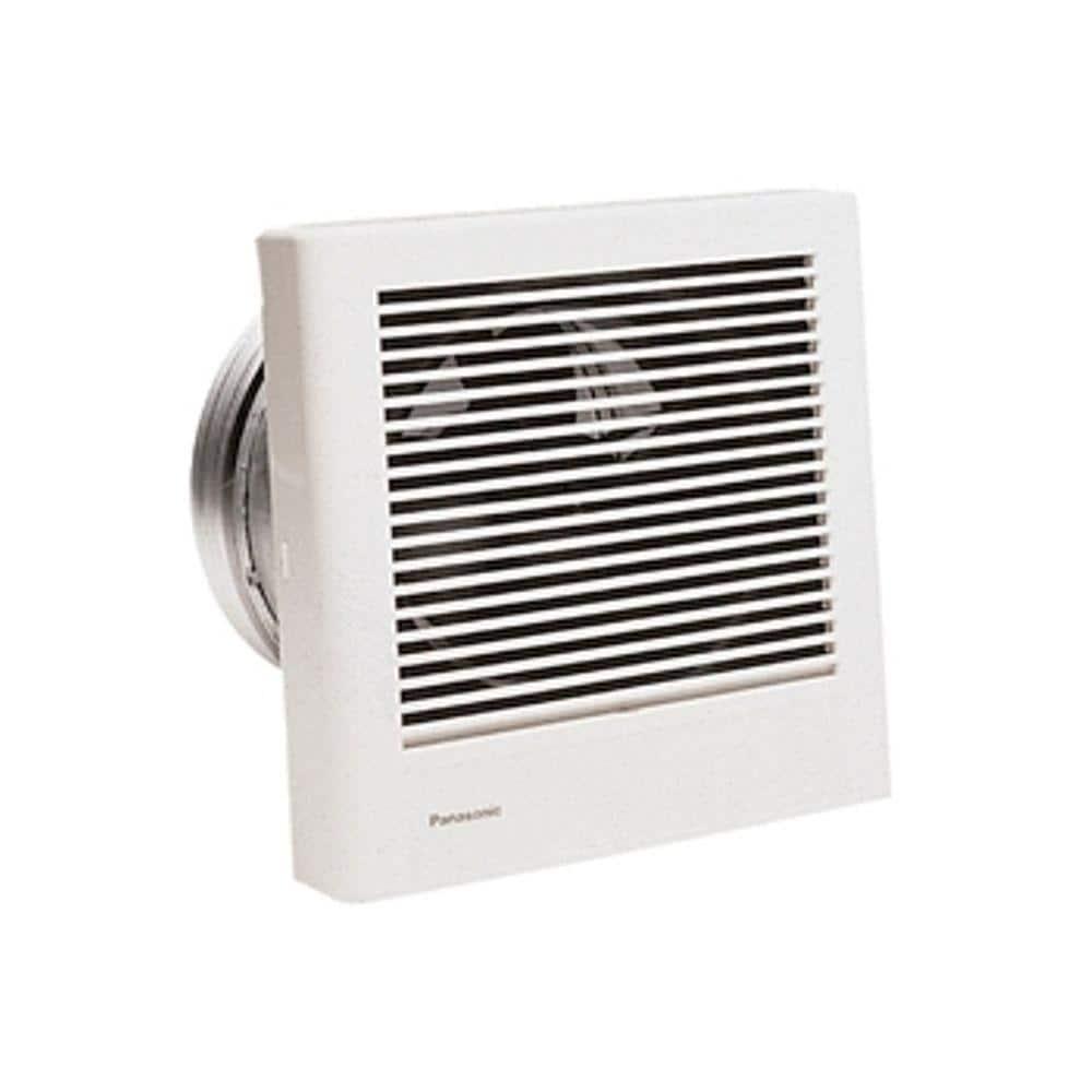 Panasonic Whisperwall 70 Cfm Wall Exhaust Bath Fan Energy Star Fv 08wq1 The Home Depot