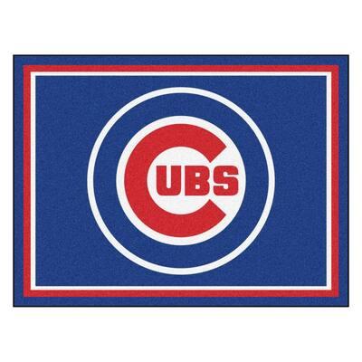 MLB Chicago Cubs Blue 8 ft. x 10 ft. Indoor Area Rug