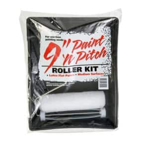 3-Piece 9 in. x 3/8 in. Paint 'N Pitch Roller Set
