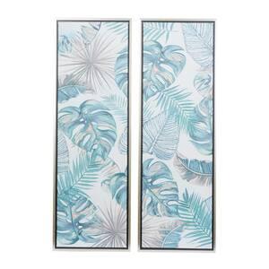 Blue Natural Canvas Wall Art