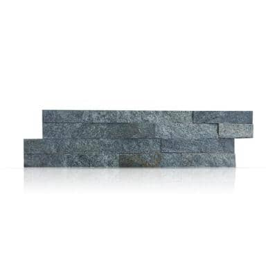 Sterling 6 in. x 24 in. Natural Stacked Stone Veneer Panel Siding Exterior/Interior Wall Tile (10-Boxes/64.17 sq. ft.)