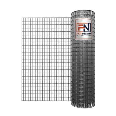 3 ft. x 50 ft. 14-Gauge Galvanized Welded Wire with 2 in. x 1 in. Mesh Size