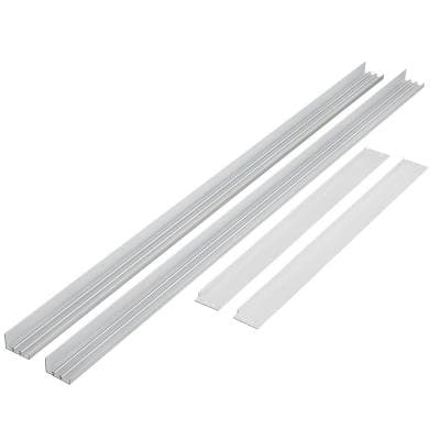 2 ft. x 4 ft. Flat Panel Surface Mounting Ceiling Frame Kit