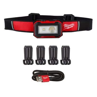 450 Lumens Internal Rechargeable Magnetic Headlamp and Task Light
