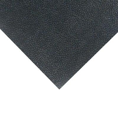 Tuff-n-Lastic Runner Mat 1/8 in. T x 4 ft. W x 15 ft. L Black Rubber Flooring (60 sq. ft.)