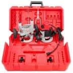 2-1/4 Max-Horsepower EVS Multi-Base Router Kit with Plunge Base and BodyGrip Fixed Base