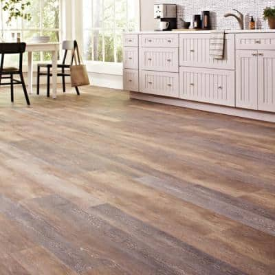 Walton Oak Multi-Width x 47.6 in. L Luxury Vinyl Plank Flooring (19.53 sq. ft. / case)