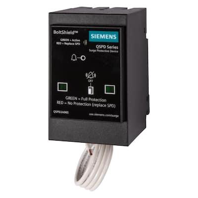 BoltShield QSPD 120/240V, 2-Pole, Single Phase, 3-Wire 65kA Plug-In Surge Protection Device