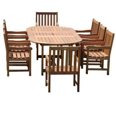 Milano Grand Deluxe 9-Piece Extendable Patio Dining Set