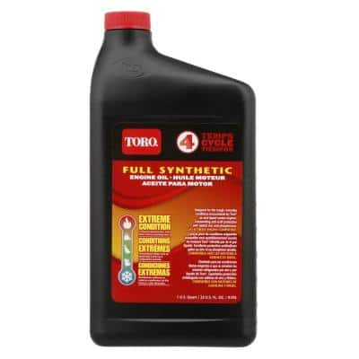 32 oz. 4-Cycle Full Synthetic Engine Oil