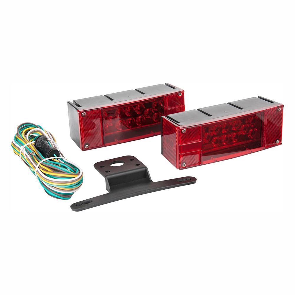 LED Low Profile Trailer Light Kit