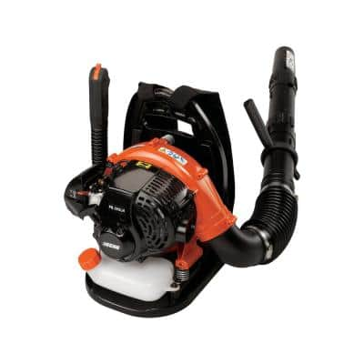 158 MPH 375 CFM 25.4 cc Gas 2-Stroke Cycle Backpack Leaf Blower with Hip Throttle