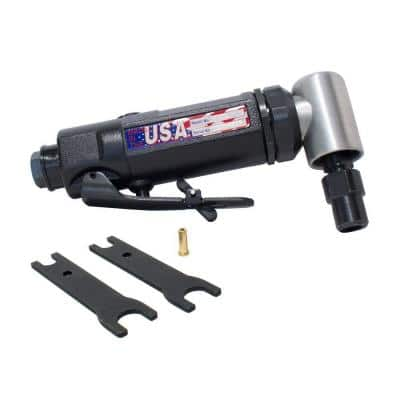 1/4 in. High Speed Angle Die Grinder with Adapter