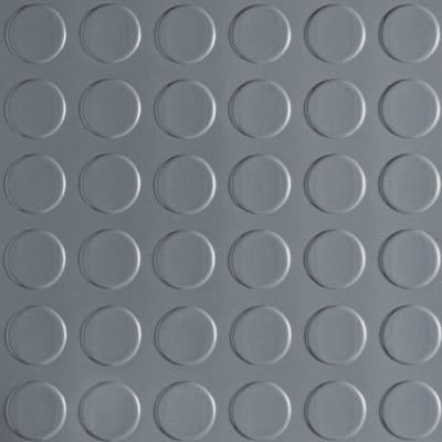 7.5 ft. x 17 ft. Coin Grey Universal Flooring