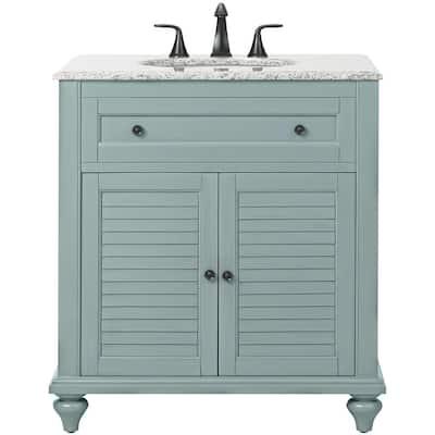Blue Bathroom Vanities Bath The Home Depot