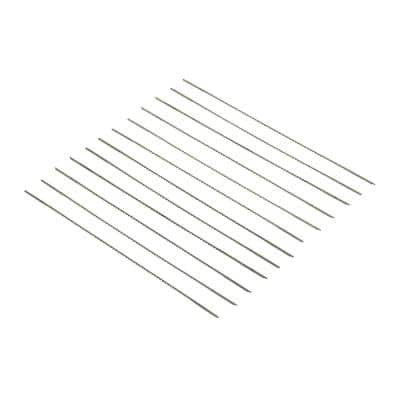 #7 Skip-Tooth Pinless Scroll Saw Blades, 12-Pack