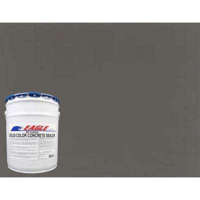 5 gal. Muddy Gray Solid Color Solvent Based Concrete Sealer