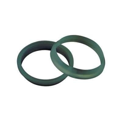 1-1/4 in. Sink Drain Pipe Rubber Slip-Joint Washer (2-Pack)