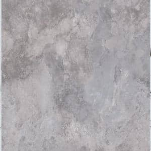 Ash Blended Slate 12 in. x 12 in. Peel and Stick Vinyl Tile (30 sq. ft. / case)