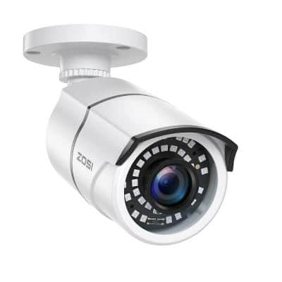 Wired 1080p Outdoor/Indoor Bullet Security Camera 4-in-1 Compatible for 1080p/720p TVI/CVI/AHD/CVBS DVR