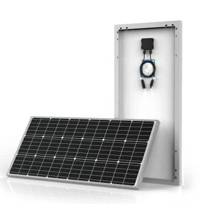 200-Watt Monocrystalline OffGrid Solar Power Kit with 2 x 100-Watt Solar Panel, 20 Amp PWM Charge Controller